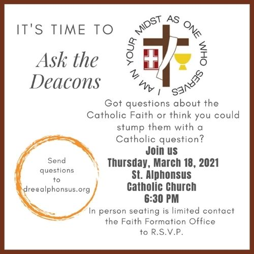 Ask the Deacons