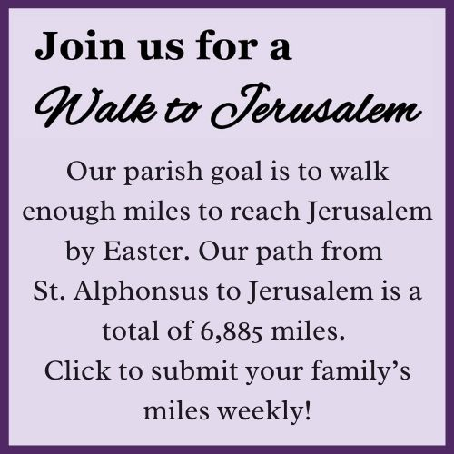 Walk to Jerusalem