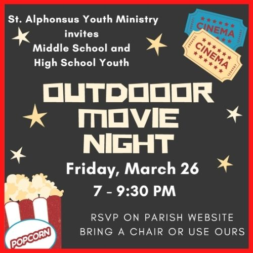 Youth Movie Night RSVP